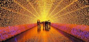 دالان نور ; ترکیبی از میلیونها لامپ LED