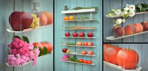 دیوار میوهای / راه هوشمندانهای برای نگهداری میوهها