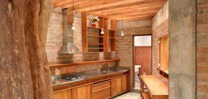 آشپزخانه سازگار با طبیعت با نگاهی به معماری سنتی پرو