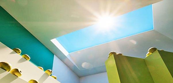 coelux ; خورشید اتاقهای بینور
