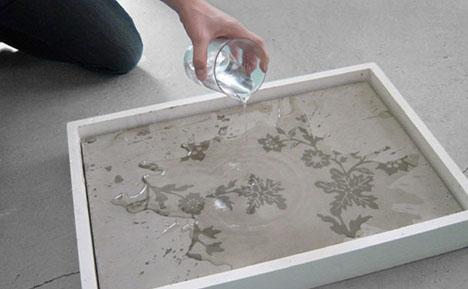 decorative-patterned-wet-concrete