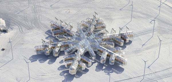 چهاردهمین نمایشگاه معماری ونیز و غرفه زیبای قطب جنوب !