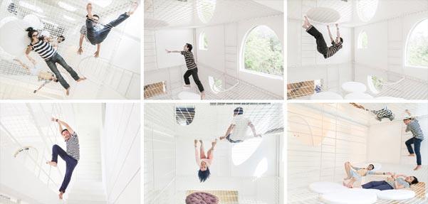 طراحی خانهی تفریحی برای یک زوج جوان و چهار پسرشان
