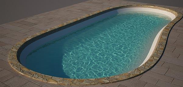 مدلسازی استخر شنا با ابزار Line