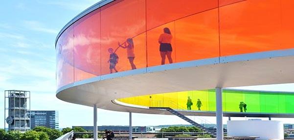 رنگینکمان پانوراما / اولفور الیاسون