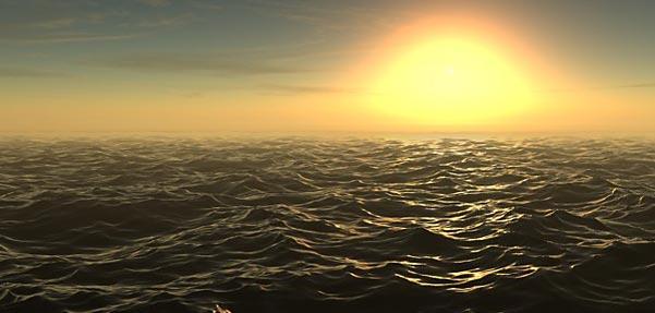 نحوه ی ساخت غروب زیبای آفتاب با پلاگین DreamScape  در مکس