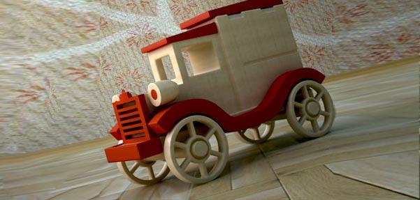مدلسازی ماشین چوبی با Editable poly