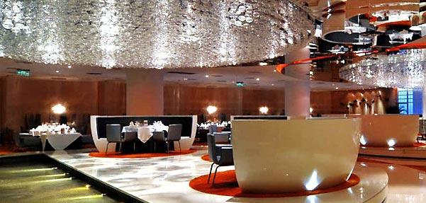 رستوران ژاردین دوجید ; ترکیبی از معماری شرق و غرب