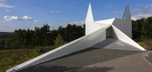کلیسای بین راهی در آلمان؛ خلوتی برای مسافران