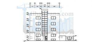 مجتمع مسکونی سه طبقه