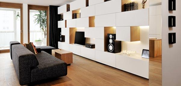 دیوارهای همه کاره Studio 360 / اسلوونی