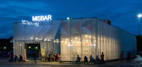 سینمای موقت روباز در میان Kineforum Misbar جاکارتا