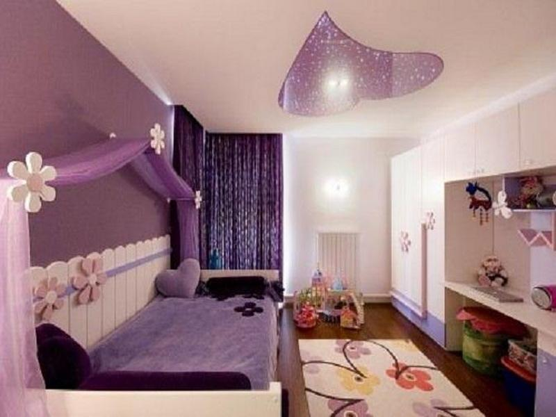 Lovely-Wall-Paint-Girls-Room-Designs-Tip-Photos