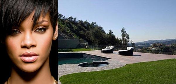 خانه 10 میلیون دلاری ریحانا ستاره موسیقی