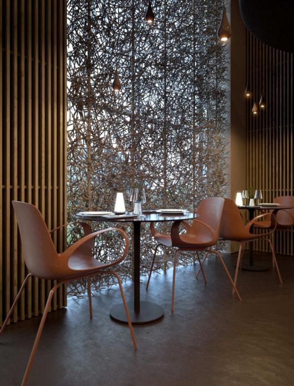The-Twister-Restaurant-Contemporary-Interior-Design-580x762