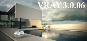 Vray 3.0.06 برای ۳Ds MAX 2015  نسخه ۶۴ بیت