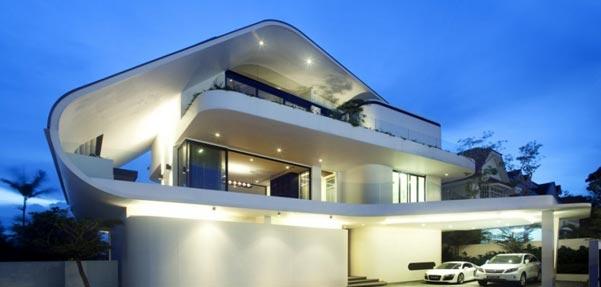 ویلای برنده جایزه معماری SIA در سال 2011 / سنگاپور