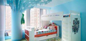 آپارتمان رنگارنگ و شاد با یک طراحی غیر معمول / امریکا