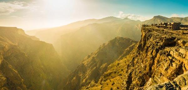 مجموعه اقامتی در میان کوه های عمان