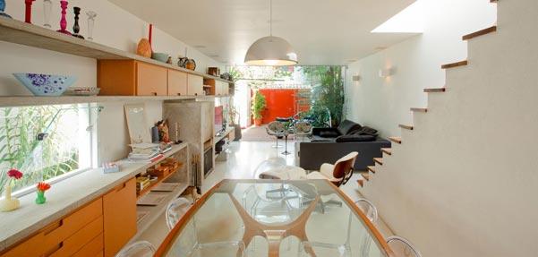 خانه بروکلین با فضایی سیال در برزیل