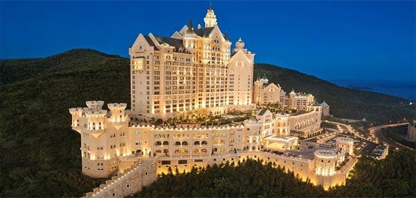 هتلی باشکوه در چین با الهام از کاخهای دیزنی