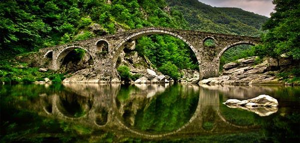 چشم اندازخیره کننده پل ها درطبیعت