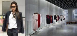 فروشگاه لباس ویکتوریا بکهام ; طرحی از فرشید موسوی