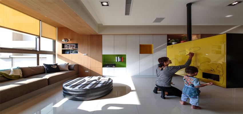 طراحی_خانه_ای_کاربردی_و_راحت_در_تایوان_1