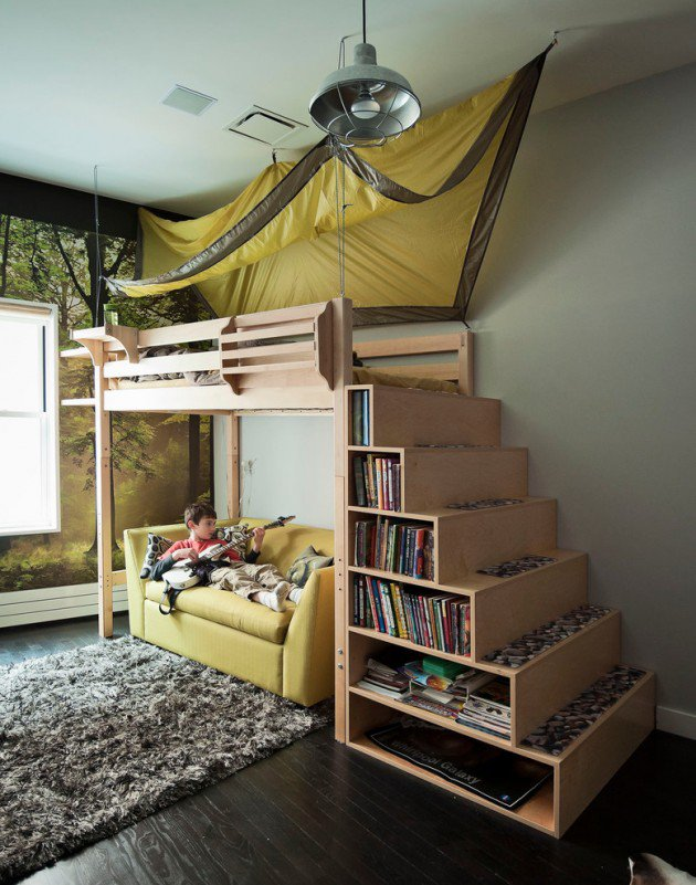 15-Entertaining-Contemporary-Kids-Room-Designs-3-630x801