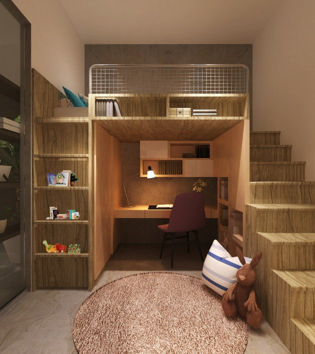 15-Entertaining-Contemporary-Kids-Room-Designs-6-630x708