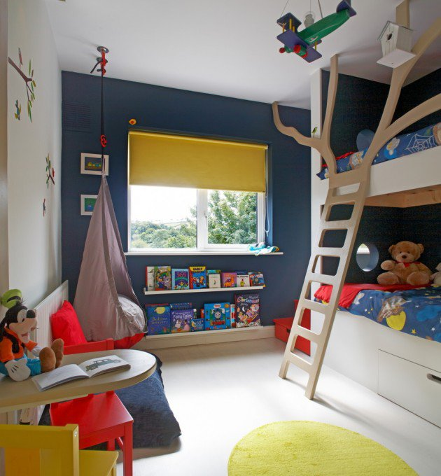 15-Entertaining-Contemporary-Kids-Room-Designs-7-630x680