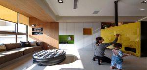 طراحی آپارتمانی راحت و استثنایی
