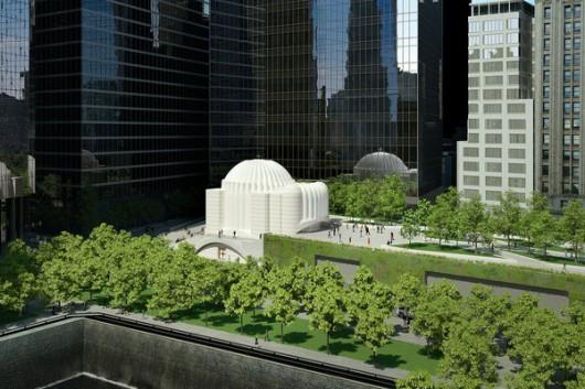 5281806be8e44e95f6000103_calatrava-reveals-design-for-church-on-9-11-memorial-site_church-1-articlelarge-v3-530x353