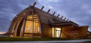 مرکز فرهنگی کری/ کانادا /معماری سکونتگاه های سرخ پوستی