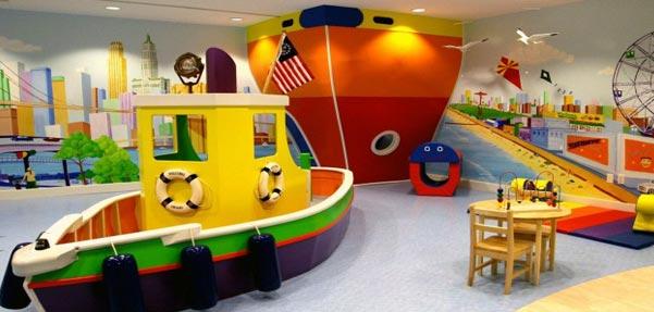 جذابترین اتاق های بازی برای کودکان شما