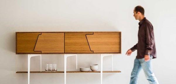 طراحی کمدکنار دیواری/ Neus