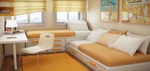 ده طرح دکوراسیون برای اتاق خواب های کوچک
