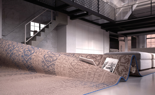 Carpet-Turned-Into-Sofa-3