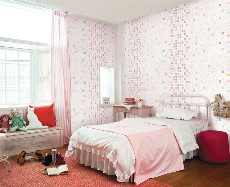 Pink-white-girls-bedroom