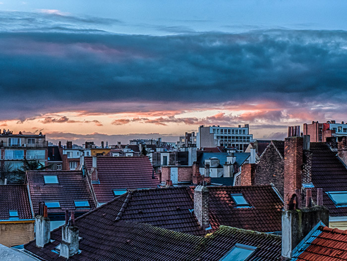 Sunrise-in-Brussels