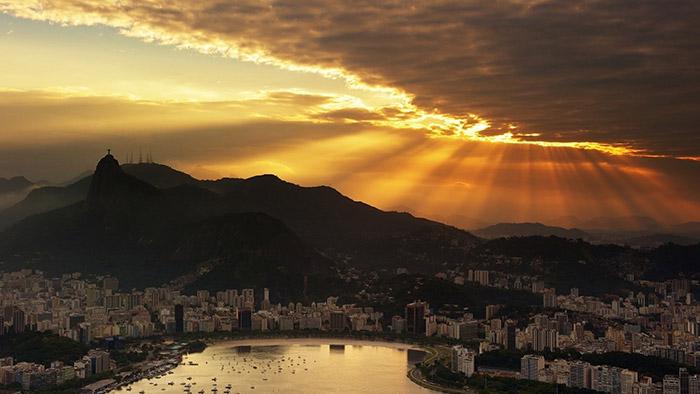 Wonderful-Rio-De-Janeiro-Sunrise-