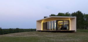 خانه پیش ساخته  M1 ; محلی گرم در زمستان سرد شمال اروپا