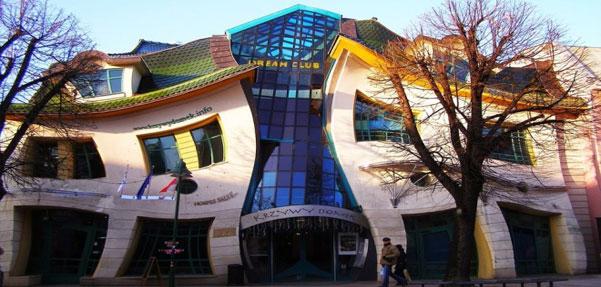 جالب ترین و عجیب ترین بناهای دیدنی دنیا