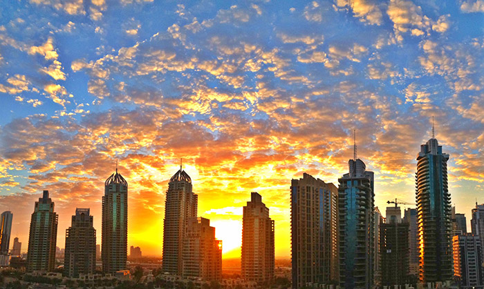 sunrise-in-Dubai