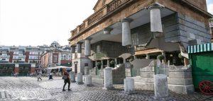 ساختمان معلق Alex Chinneck ; خلاقیتی شگفت انگیز