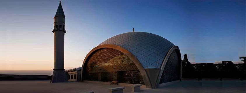 مسجد شاکرین استانبول ; تنها مسجدی که طراحش زن بود