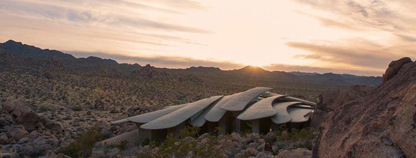 خانه کویر ;  نقطه عطفی در معماری ارگانیک