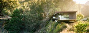 خانه آبشاری ; ویلایی با چشم انداز رویایی در کالیفرنیا