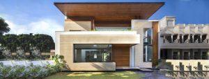 معماری زیبای خانه ای مسکونی در هند