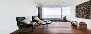 طراحی داخلی آپارتمانی در ماکائو با الهام از درختان